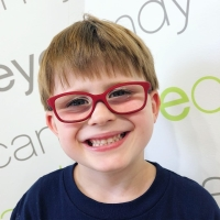 Lookkino Red Frames For Kids