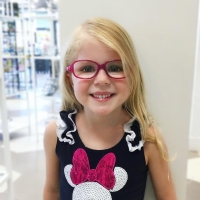 Nano Raspberry with Optional Strap | Eyeglasses for Girls